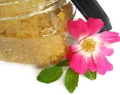 body scrub salt sugar scrub exfoliating . Tangerine Sunshine
