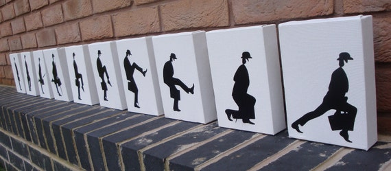 Monty Python - Ministry of Silly Walks (10 Canvas)