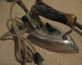 Antique American Beauty Working Electric Clothing Iron made in U S A by American Electric Heater Co