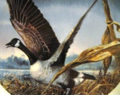 Beautiful Vintage Limited Edition Canadian Goose Collector Plate by Ralph McDonald