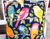 Birds of Color - a pillow cover