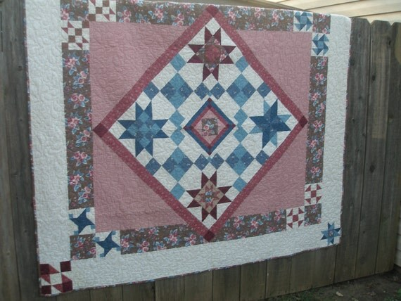 Joann's Pink and Blue Quilt