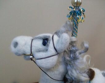 Carousel Horse - Needle Felted