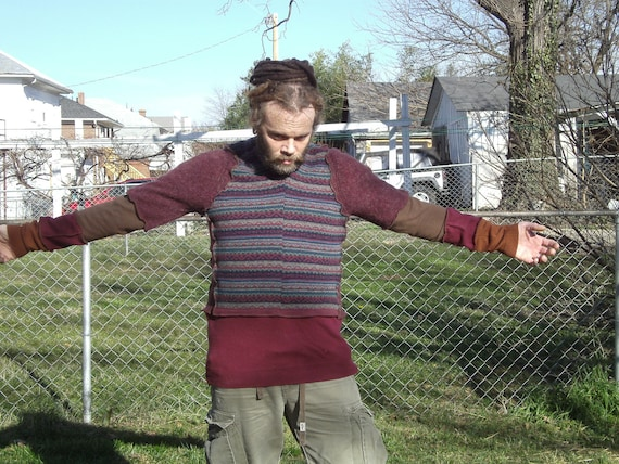 Upcycled Pullover Sweater