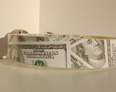 "Fashion Collar - Large White Cash, Will Fit 20-24"" Neck"
