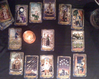Relationship Analysis 13 card tarot reading JPG of reading is included