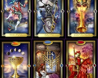 Questions and Answers Tarot Reading JPG of reading is included