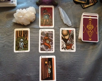 New Orleans  Reading (VIDEO) Tarot reading JPG of reading is included