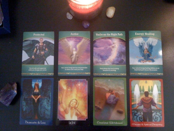 4 Tarot and 4 Oracle card reading for Career/Work