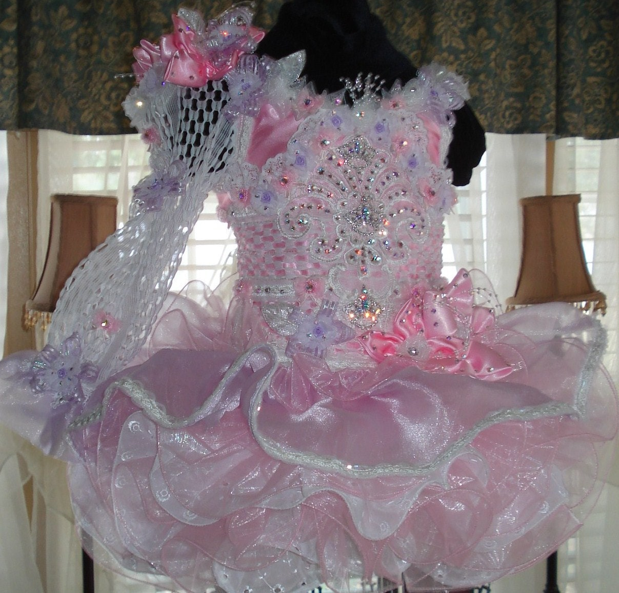 national glitz pageant dress custom order by by
