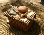 Handmade ECO Friendly Box for Jewelry or Small Treasures OOAK