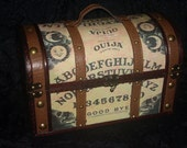 STEAMPUNK WITCH Ouija Board purse box purse
