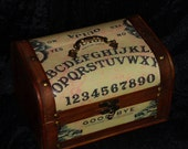 STEAMPUNK Witch Ouija Board purse box purse FREE SHIPPING