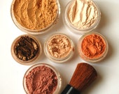 8pc FALL GLOW Mineral Makeup Kit  - Full Sizes - Customize Free