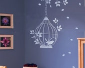 Interior Wall Vinyl Decal, Graphic, Wall Sticker-lovely birds case