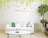 Vinyl Wall Decals ,Wall Stickers Tree Decals- Dream's garden