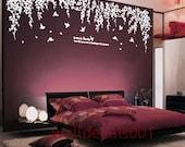 Vinyl wall decals wall stickers tree decals wall murals wall decor home decor - Dream's garden