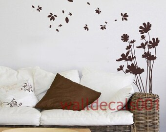 Vinyl Wall Decals,wall stickers, Decors,-trailing flower 2