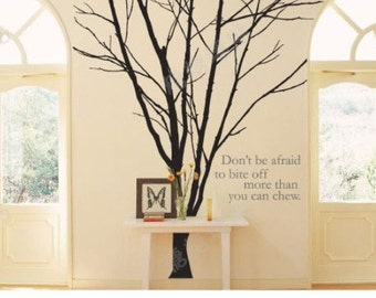 Tree Wall Decals Wall Stickers -Lovely Winter Tree
