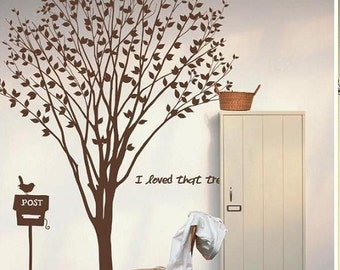 Lovely  Tree Decals- Wall Decals Wall Sticker s tree decals, murals