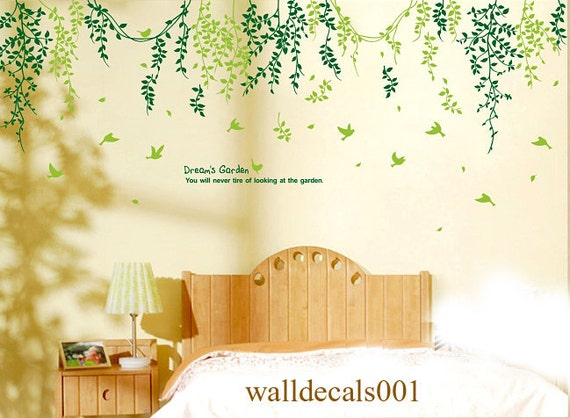 Tree wall decals- Dream's garden