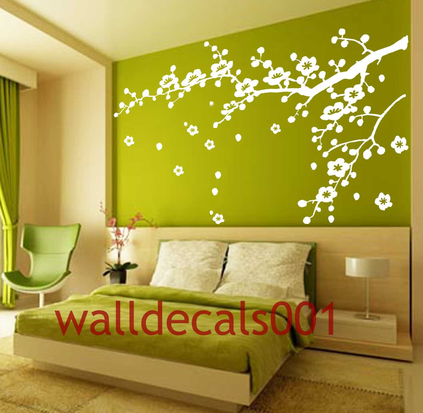 Vinyl Wall Decals wall stickers tree decal flower decal wall