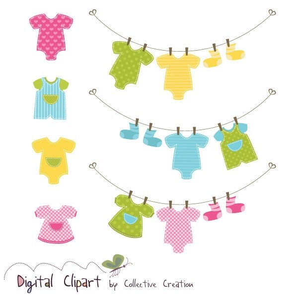 baby clothes clipart free - photo #6