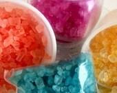 Natural Bath Salts - Tropical Bath Salts - Decorative Salts - Free Shipping Domestic