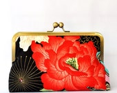 Clutch Lady Yang with japanese peony