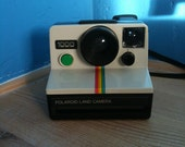 20% discount Polaroid SX-70 Land Camera - One Step - Green button (produced in UK)