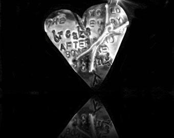 Hemingway Pendant, Silver Pendant by Judy Reno