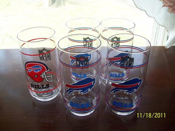 Buffalo Bills Drinking Glasses