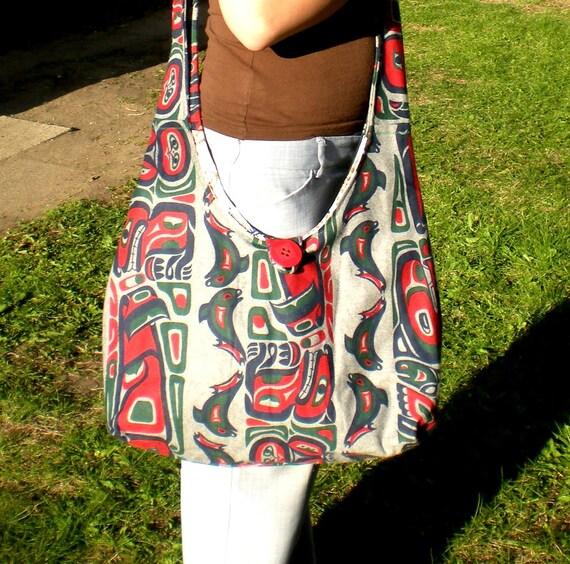 Oversized Large Boho Bag/Purse Tribal