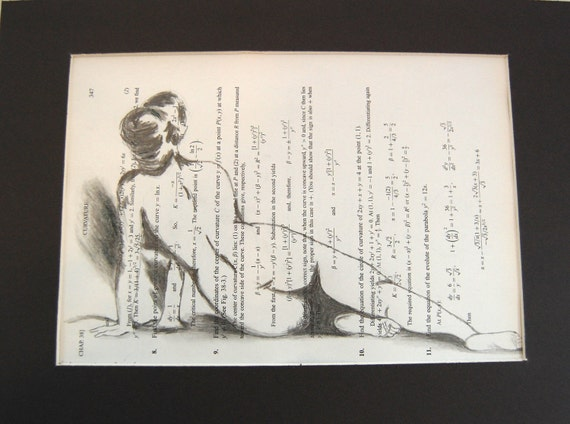 Curvature - an Original Pencil Drawing