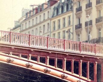 Paris Photography, VIntage Paris Buildings, Paris Bridges, Paris Roofs, Romantic Paris Home Decor