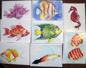 Reef Fish Notecards