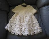 Baby Antique White Dress