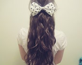Polkadottie Hair Bow