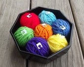 Rainbow Yarn Lot 105 Yards