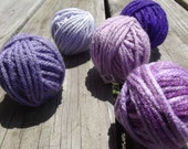 Purple People Eater Yarn Lot 75 Yards