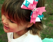 Bow or Headband - can be custom or made to match