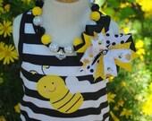 Cute Little Bumblebee Personalized TANK