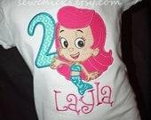 Bubble Guppies Girls Shirt