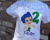 Bubble Guppies Boys Shirt