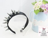 Spiked Headband black