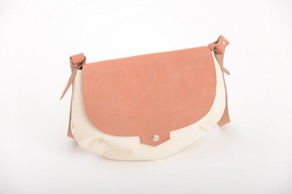 Christmas sale - waxed canvas bag