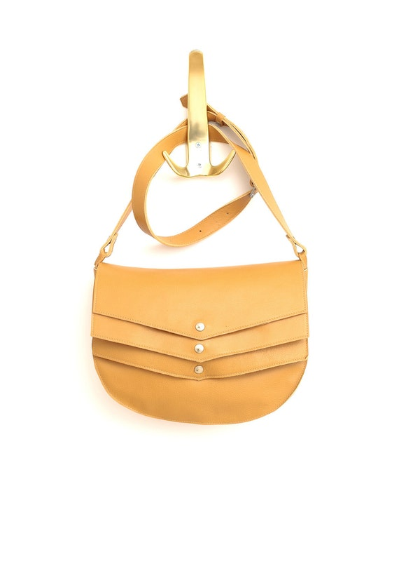 Leather Bag- Cross body- Christmas gift 135usd instead of 157usd