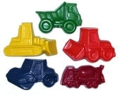 Chunky Construction Scribblers -Set of (5) 2nd Chance Crayons
