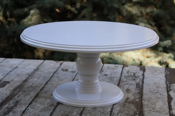 16 inch wedding cake stand cake stand 16 inch wood cake or dessert by 1028