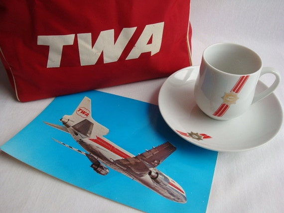 TWA Bag with Extras
